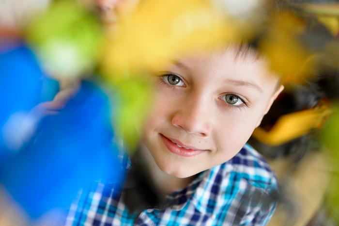Репортажная фотосъёмка детей в детском саду.