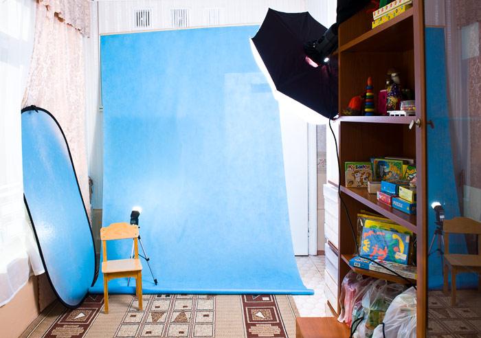 Как сделать домашнюю фотостудию фото 505