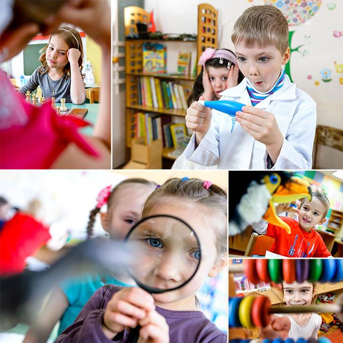 игровой фотосъёмке детей