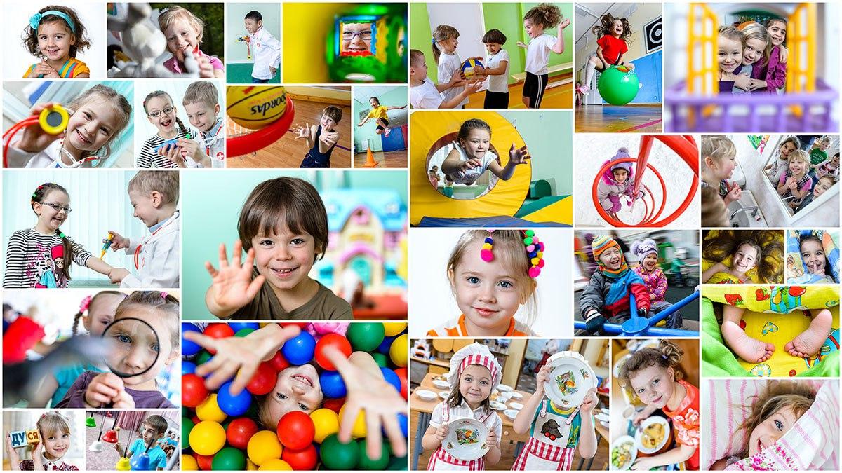 Настоящая жизнь детей в детском саду с живыми эмоциями