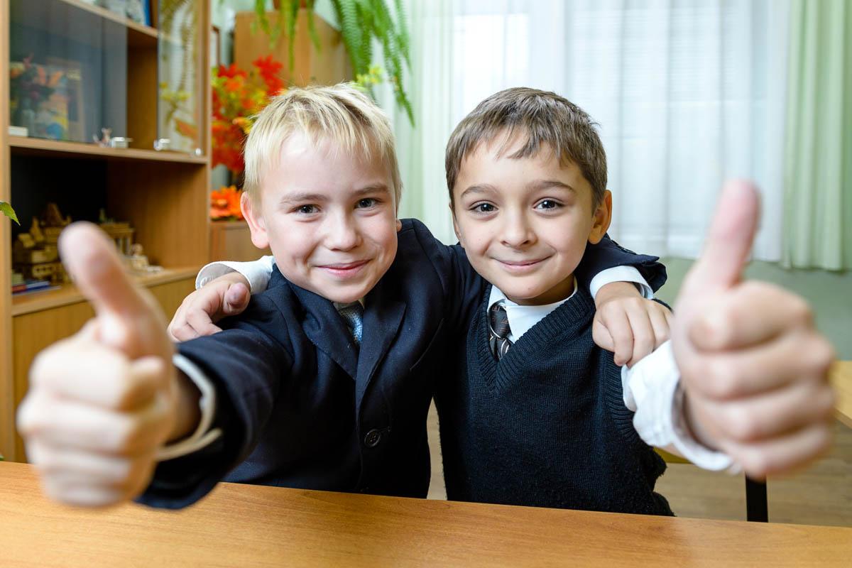 Картинки дети школьники друзья