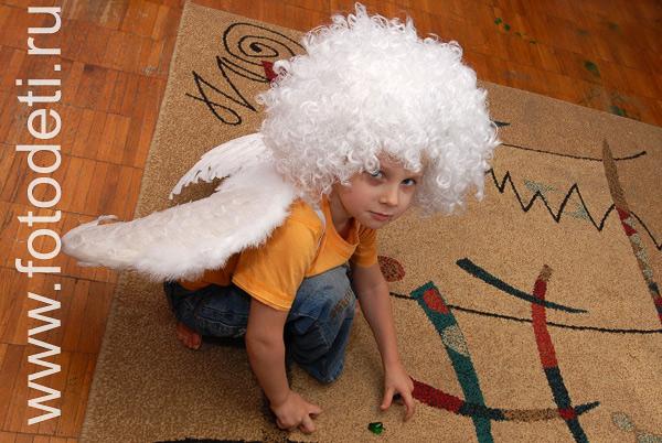 Как сделать ангела ребенку