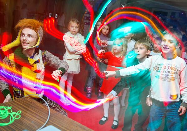 Световое шоу для детей